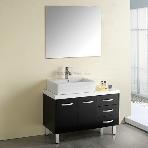Wood bathroom vanity solid wood bathroom vanity solid wood vanity hot sale in usa canada Bathroom cabinets made in usa