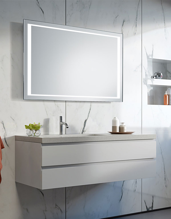 high quality and cheap led bath mirror, led dressing table